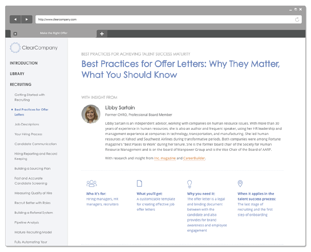 best practices document screenshot