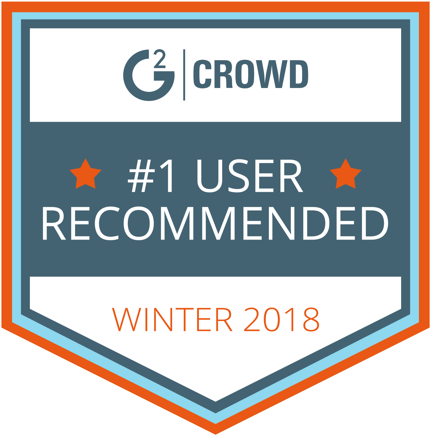 user recommended award logo