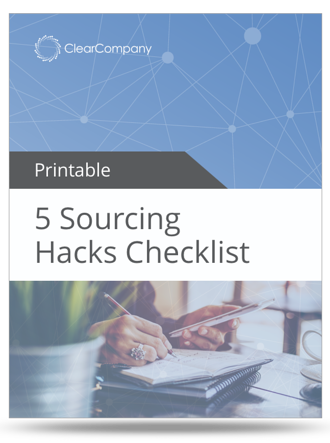 sourcing hack checklist