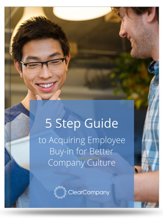 5 step Company Culture Buy-in