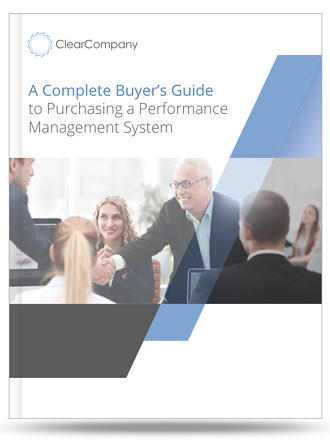 performance management buyers guide