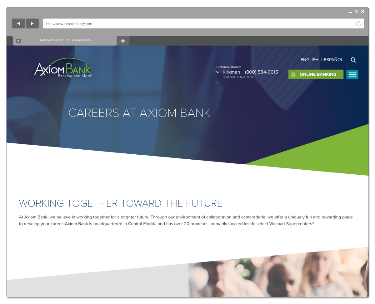 Beautifully Branded Career Sites Screenshot
