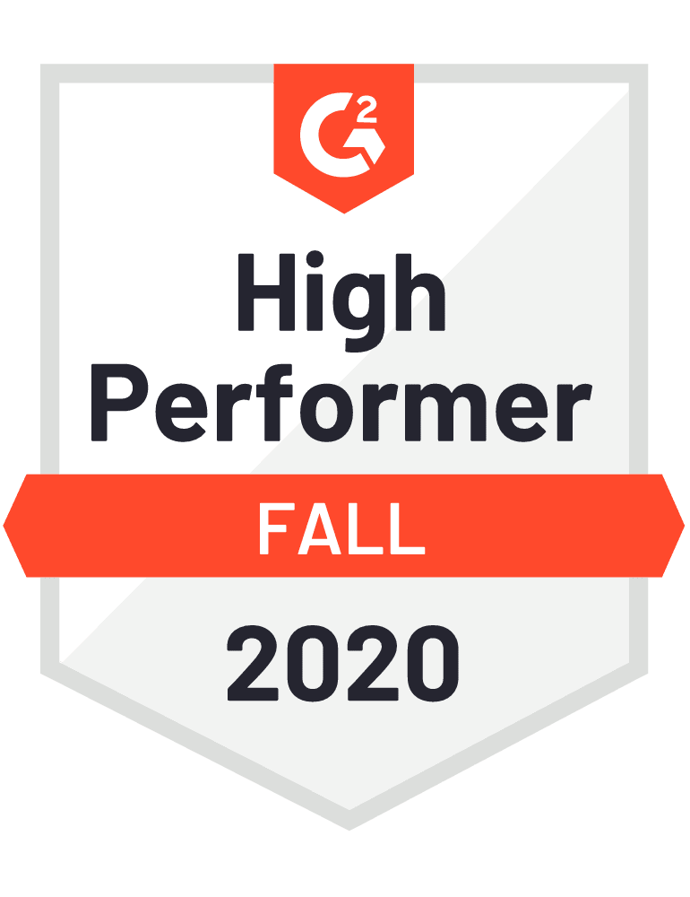 high performer summer 2020 award