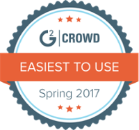 g2 crowd spring 2017 easiest use award
